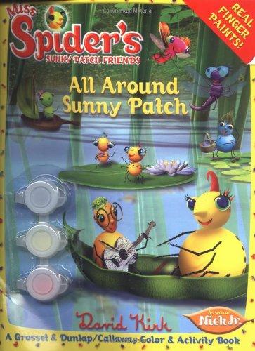 9780448441108: All Around Sunny Patch (Miss Spider)