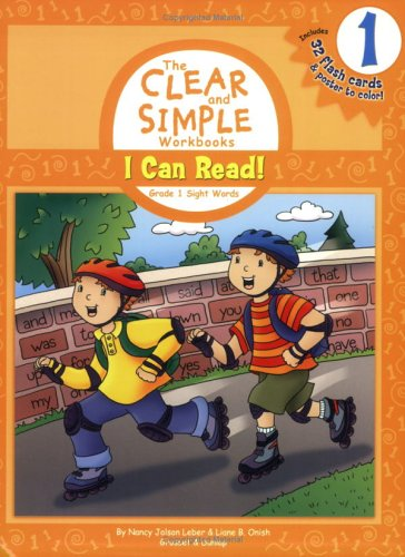 9780448441276: I Can Read!: Grade 1 Sight Words (Clear and Simple Workbooks: Grade 1)
