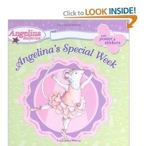 9780448441344: Angelina's Special Week (Angelina Ballerina)