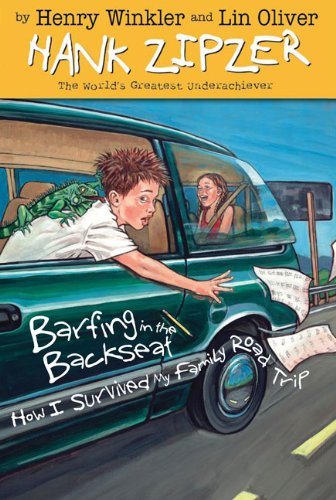 Barfing in the Backseat #12 (Hank Zipzer): Henry Winkler, Lin