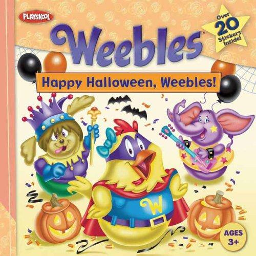9780448443454: Uc Happy Halloween, Weebles!