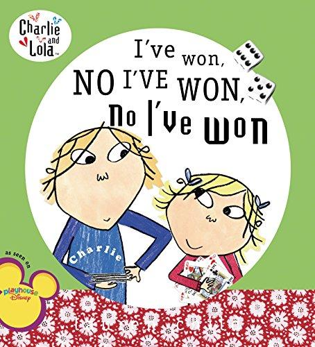 9780448443508: I've Won, No I've Won, No I've Won (Charlie and Lola)