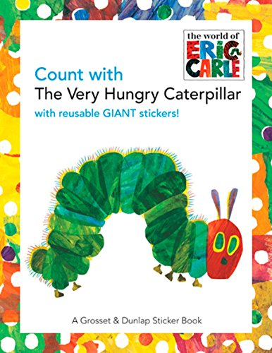 9780448444208: Count with the Very Hungry Caterpillar (Sticker Book)