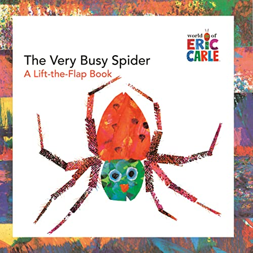 9780448444215: The Very Busy Spider: A Lift-The-Flap Book (The World of Eric Carle)