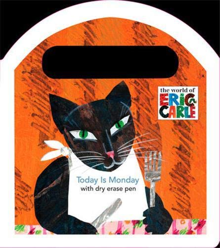 9780448444925: Today Is Monday: A Dry-Erase Book (The World of Eric Carle)