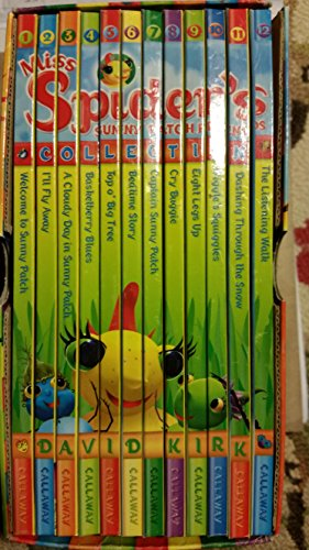 Miss Spiders Sunny Patch Friends Collection (Books 1 - 12)