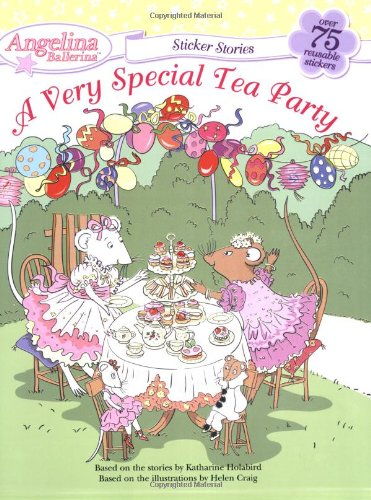 9780448445496: A Very Special Tea Party (Angelina Ballerina)