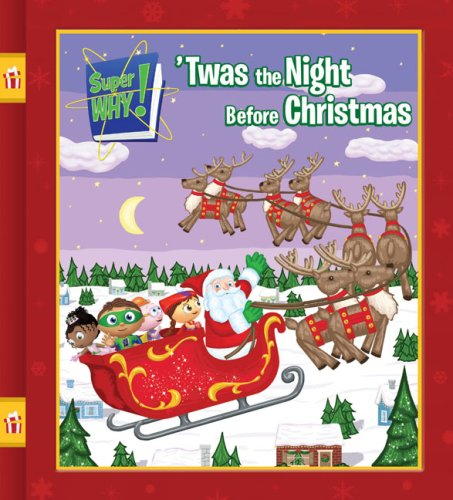 9780448449753: 'Twas the Night Before Christmas (Super WHY!)