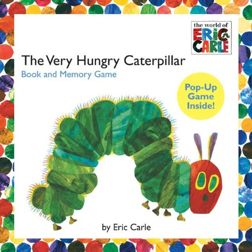 9780448449845: The Very Hungry Caterpillar Book and Memory Game (The World of Eric Carle)