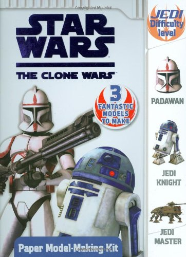 9780448450049: Star Wars The Clone Wars: Press Out 'n' Build