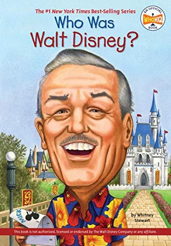 Who Was Walt Disney? (Paperback): Who Hq, Whitney Stewart