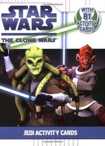 9780448451718: Jedi Activity Cards (Star Wars: The Clone Wars)