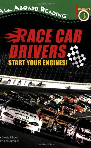 9780448451893: Race Car Drivers: Start Your Engines! (All Aboard Reading)