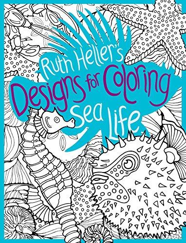 9780448452043: Sea Life (Designs for Coloring)