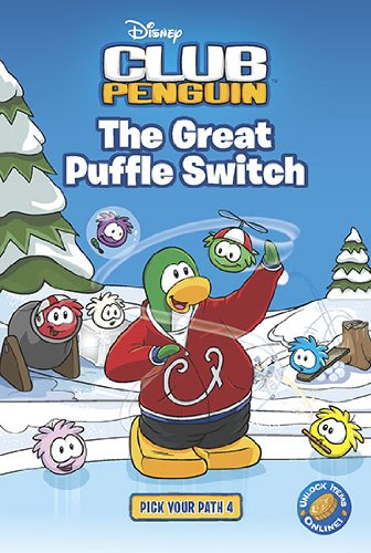 9780448453316: The Great Puffle Switch 4 (Disney Club Penguin)