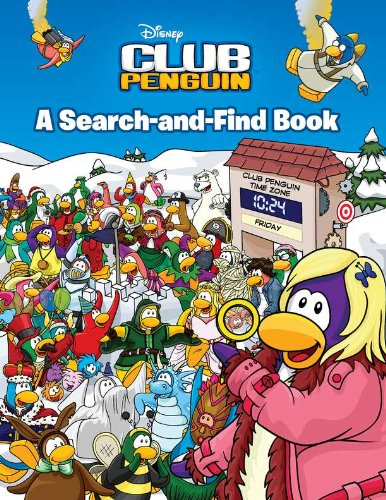 9780448453903: A Search-and-Find Book (Disney Club Penguin)