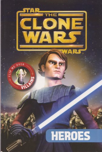 9780448453910: The Clone Wars Flip Book Heroes & Villans (Star Wars)