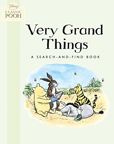 9780448454153: Very Grand Things: A Search-And-Find Book (Disney Classic Pooh)