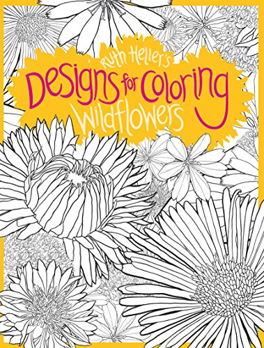 9780448454627: Designs for Coloring: Wild Flowers: Wildflowers