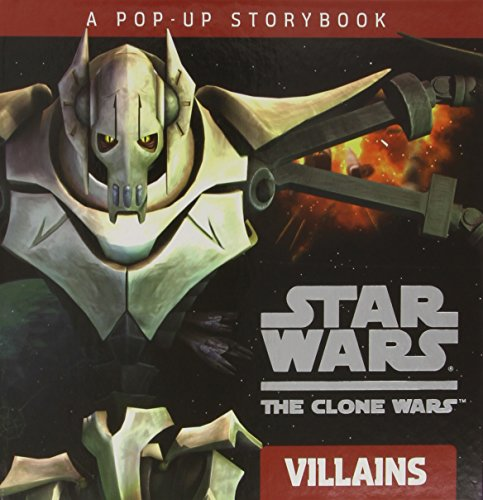 9780448454634: Villains: A Pop-Up Storybook (Star Wars: the Clone Wars)