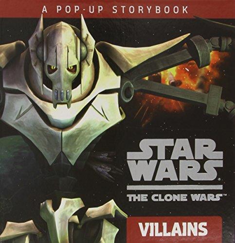 9780448454634: Villains: A Pop-up Storybook (Star Wars: The Clone Wars)