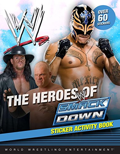 The Heroes of SmackDown Sticker Activity Book: Not Available (NA)