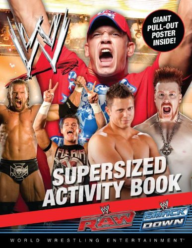 9780448457727: WWE Supersized Activity Book