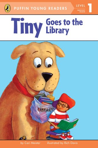 9780448457871: Tiny Goes To The Library. Level 1