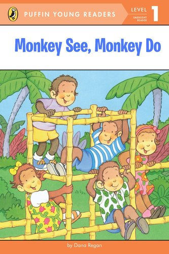 9780448457895: Monkey See, Monkey Do: Level 1: Emergent Reader