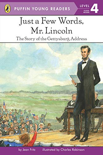 9780448458083: Just a Few Words, Mr. Lincoln (Puffin Young Readers, L4)