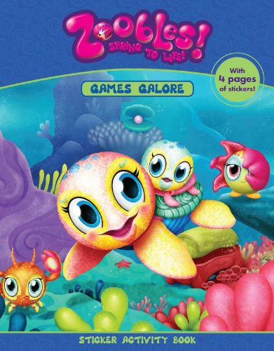 9780448458694: Games Galore (Zoobles!)