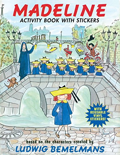 Madeline: Activity Book with Stickers