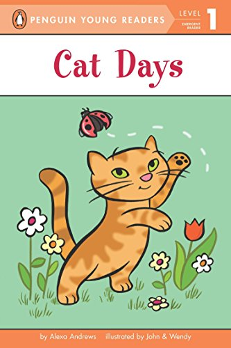 9780448463056: Cat Days (Penguin Young Readers, Level 1)