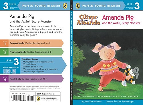 9780448463438: Amanda Pig and the Awful. Scary Monster (Puffin Young Readers. L3)(Chinese Edition)