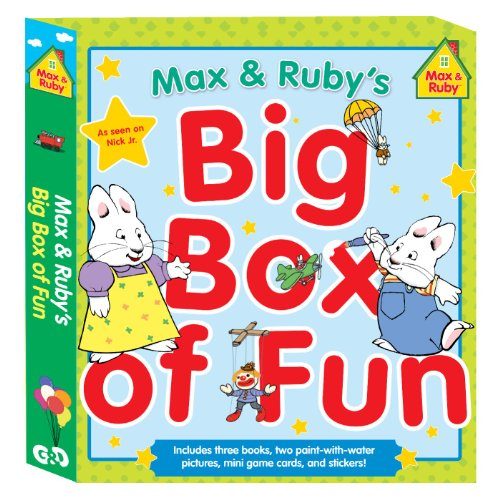 9780448464640: Max & Ruby's Big Box of Fun (Max and Ruby (Paperback))