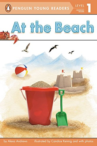 9780448464718: At the Beach (Penguin Young Readers, Level 1)