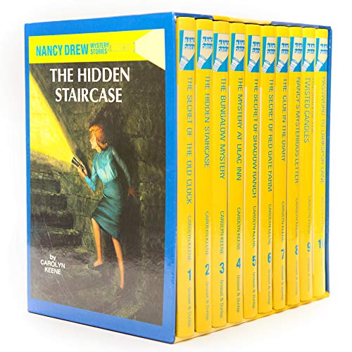 9780448466750: Nancy Drew Mystery Collection (Boxed Set of 10 books)