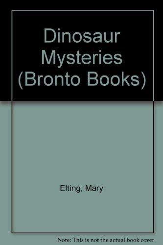 9780448474878: Dinosaur Mysteries (Bronto Books)