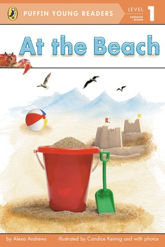 9780448478685: At the Beach (Puffin Young Reader. Level 1) ( on the beach )(Chinese Edition)