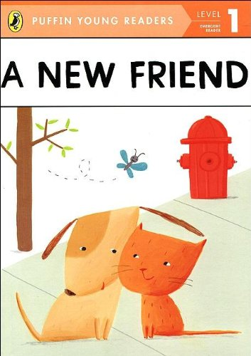 9780448478708: A New Friend (Puffin Young Reader. Level 1)(Chinese Edition)