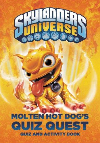 9780448478890: Molten Hot Dog's Quiz Quest (Skylanders Universe)