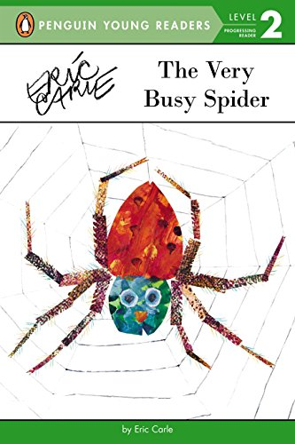 9780448480527: The Very Busy Spider (Penguin Young Readers, Level 2)