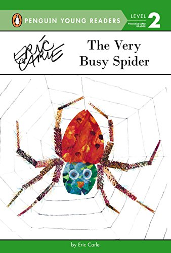 9780448480534: The Very Busy Spider (Penguin Young Readers: Level 2)