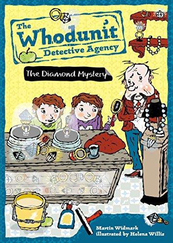 Whodunit Detective Agency 01 The Diamond Mystery: Martin Widmark, Helena