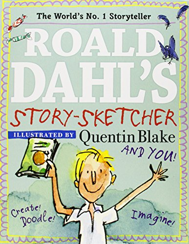 9780448481609: Roald Dahl's Story-Sketcher: Create! Doodle! Imagine!