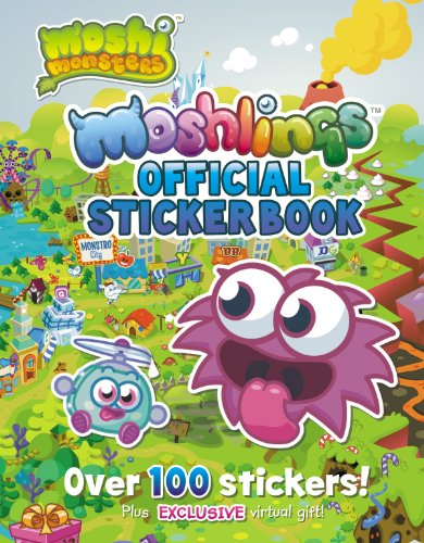 9780448482026: Moshlings Official Sticker Book