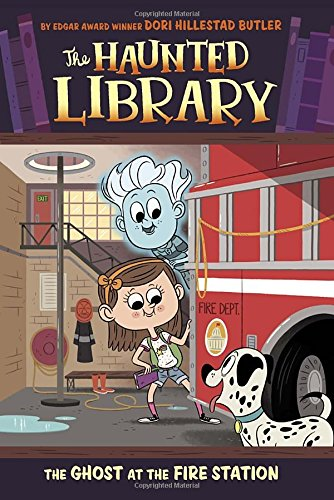 9780448483351: The Ghost at the Fire Station (Haunted Library)