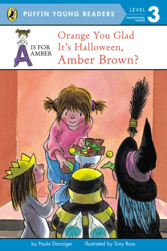 9780448483825: A Is For Amber. Orange You Glad It's Halloween, Amber Brown?