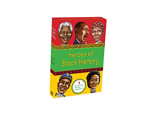 9780448487663: Heroes of Black History (Who Was?)
