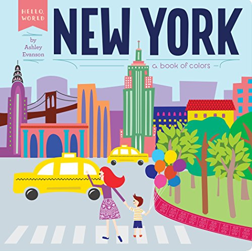 9780448489131: New York: A Book of Colors (Hello, World)